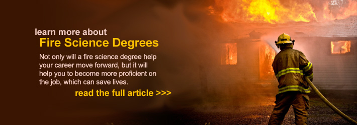 Fire Science Degree